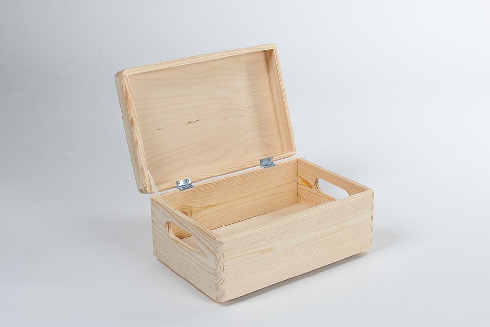 Genialny Pudełka drewniane WOODEN WORLD wyroby z litego drewna, pudelka HW57