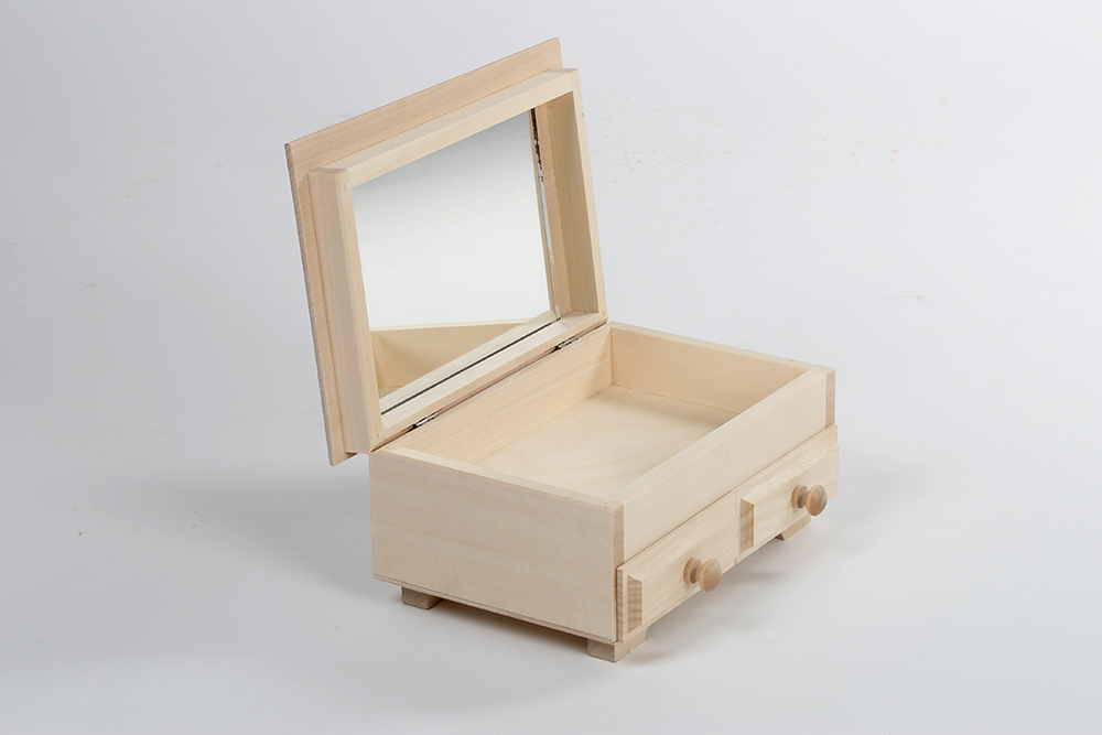 Dressing table with mirror T01