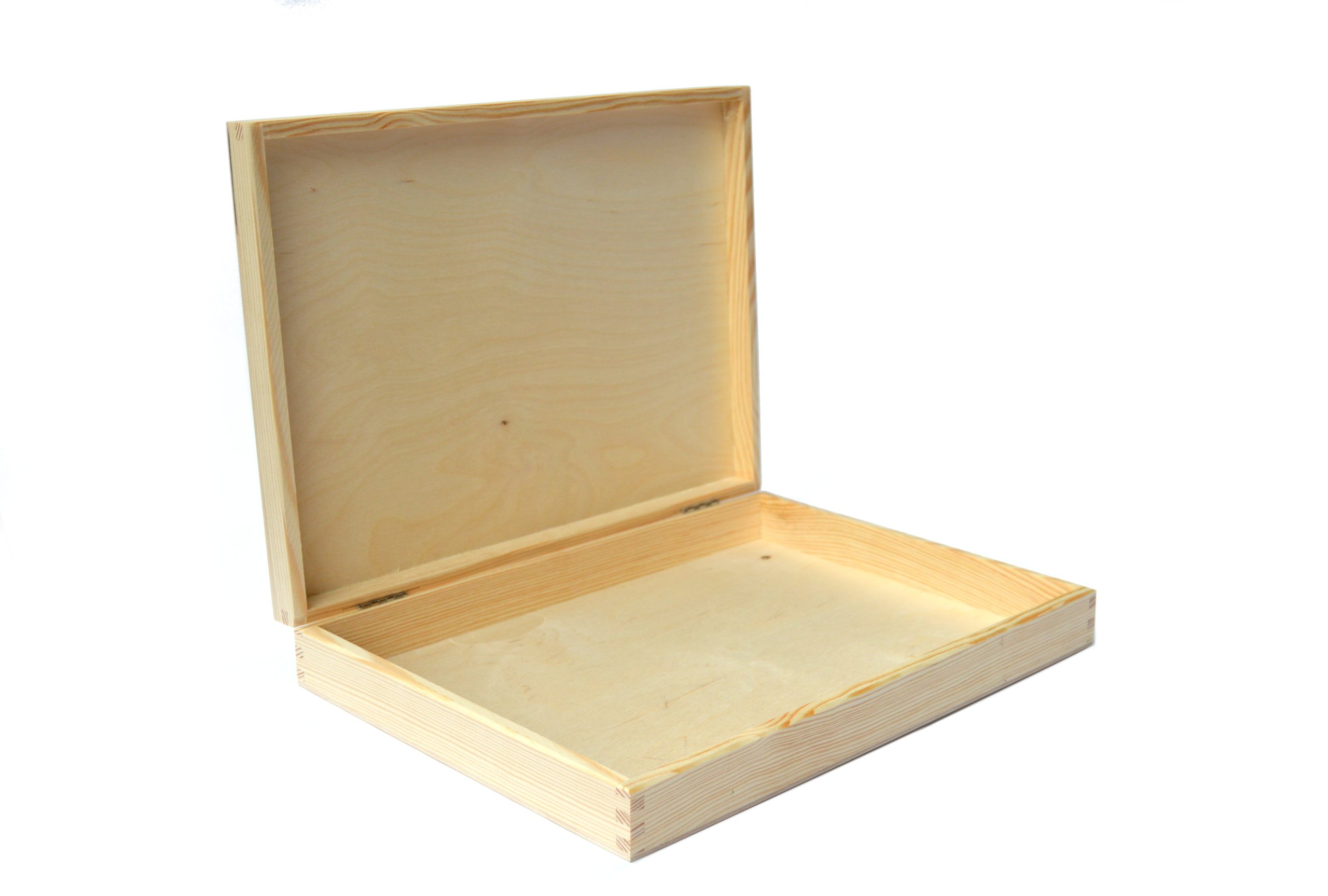 Flat A4 box for documents